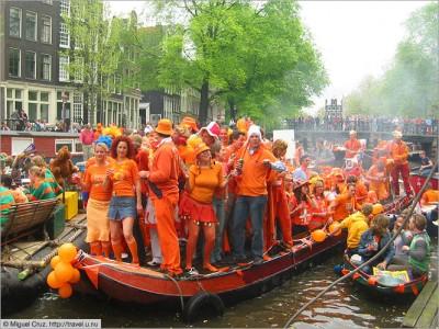 Kings day amsterdam