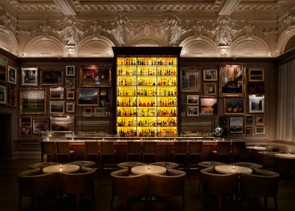 berners tavern - bar