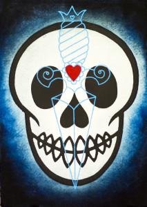 Preferred el Jimador skull image