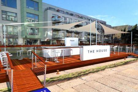 house of peroni floating bar