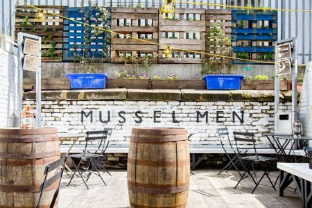 mussel men dalston garden