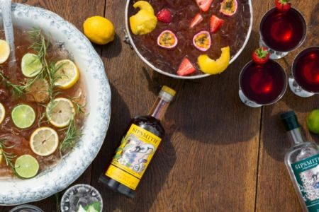 sipsmith summer punch house